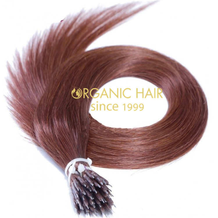 High quality real human nano hair extension A101