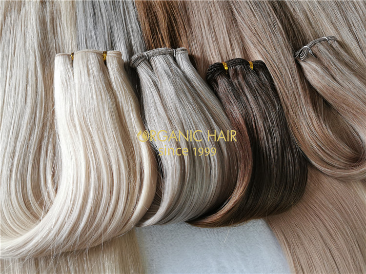 Best sell hand tied weft full cuticle intact  C101