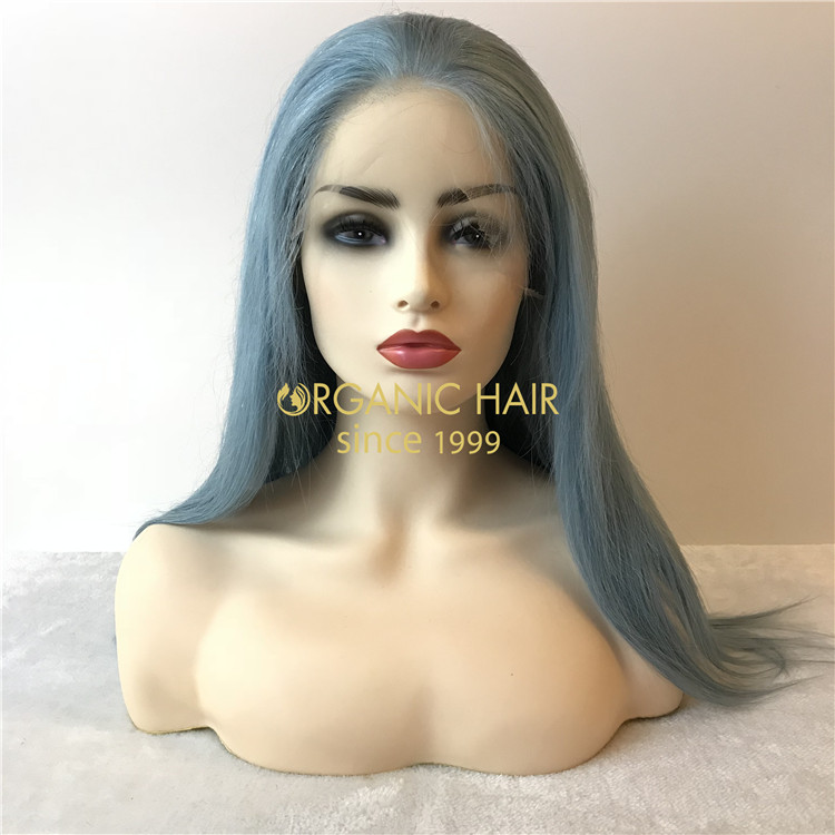 Beautiful human chinese hair full lace wigs cheap X108
