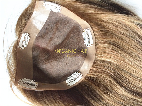 Indian human hair extensions hairpieces for thinning hair
