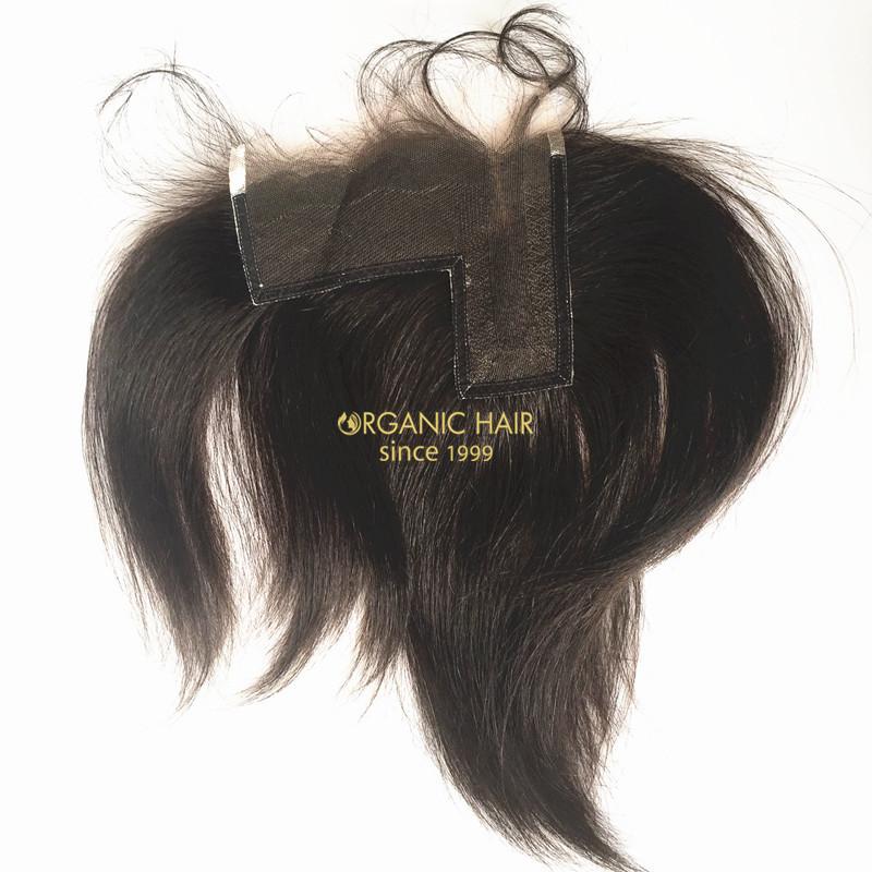 Short Hair Extensions L Part Lace Closures China Oem Short Hair