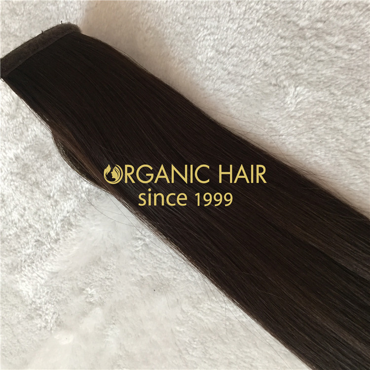 Hair extensions to order--Remy hair ponytail extensions C11