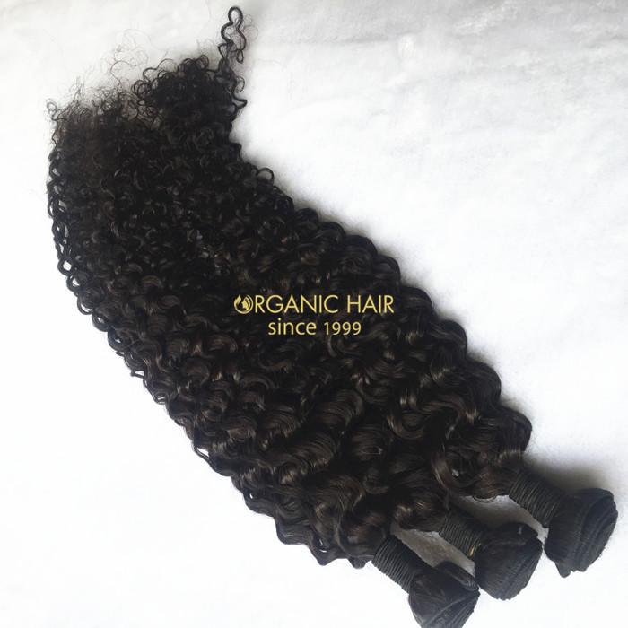 Wholesale Brazilian Double Drawn Human Hair Weave China Oem