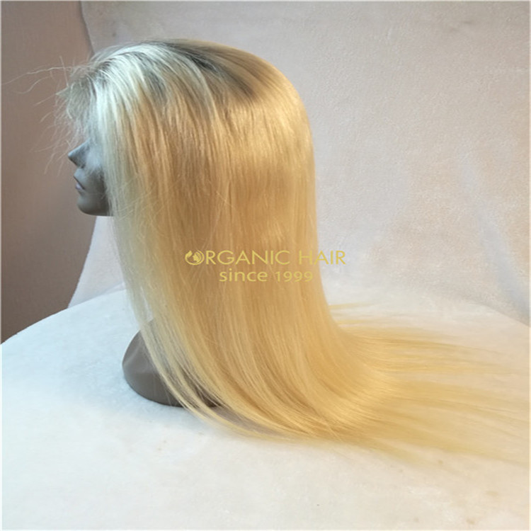 Wholesale price huamn hair lace front wig with baby hair C13