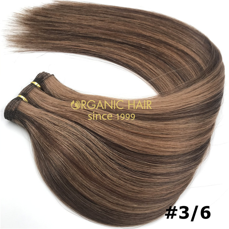 Piano color hand tied wefts #3/6 and hot sale X245