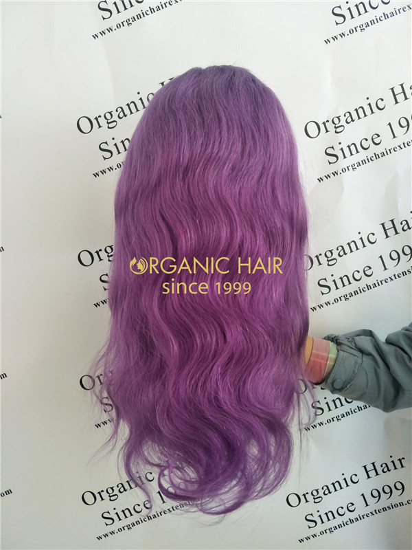 Beautiful full lace wigs with baby hair from Organic hair R9