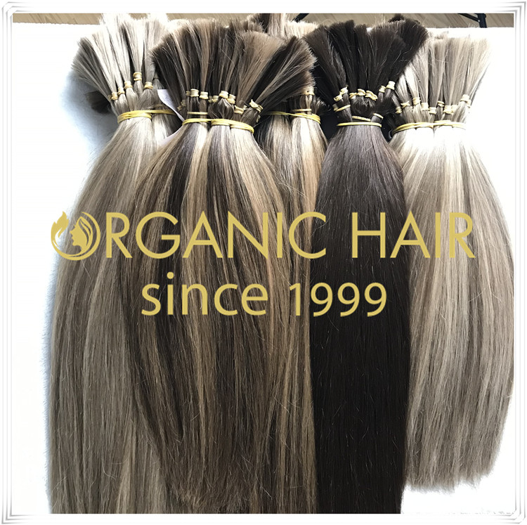 Human hair 100% hair bulk wholesale C029
