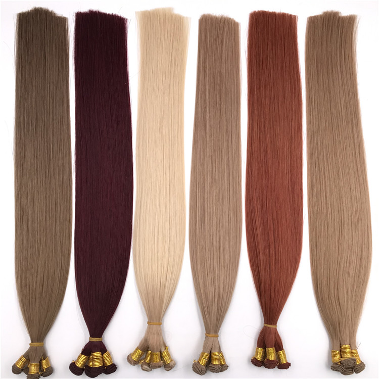 Wholesale human hand tied wefts and hot sale X354