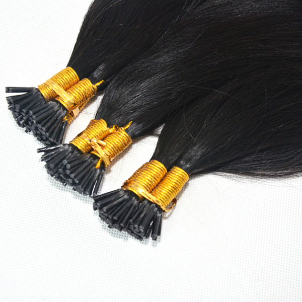 Bonded hair extensions i tip extensions for short hair