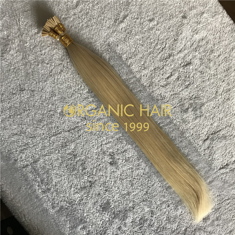 BLONDE I TIPS HAIR EXTENSIONS H187