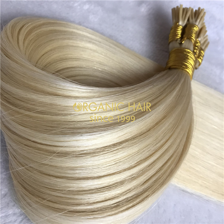 Wholesale silicon free I tip hair extensions V04