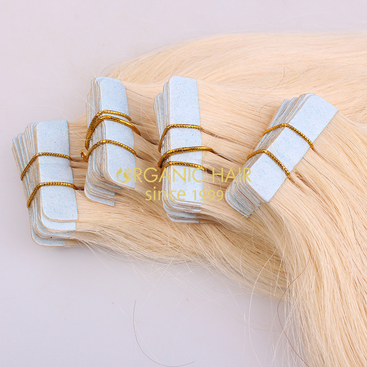 Tape hair extensions in Australia