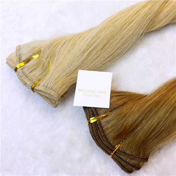 Real Hair Straight Hair Extensions Thick Hair Extensions China Oem