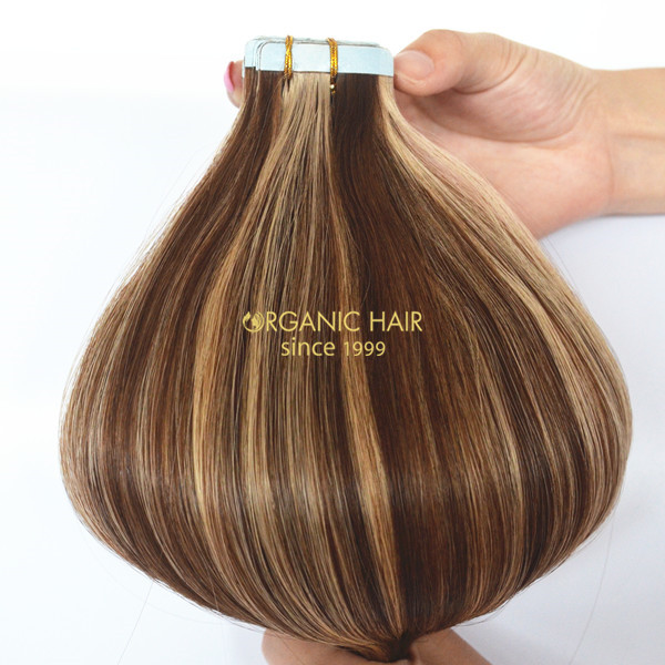Tape In Hair Extensions No Damage China Oem Tape In Hair Extensions