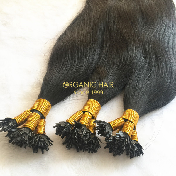 Flat Tip Pre Bonded Hair Extensions Microlink Hair Extensions