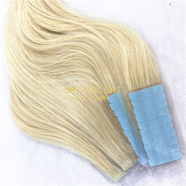 Full Cuticle Invisible Weft Skin Weft Tape In Hair Extensions China
