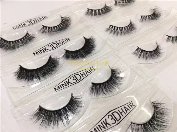 Organic 3D Mink Lashes Extensions Wholesale Vendor, China