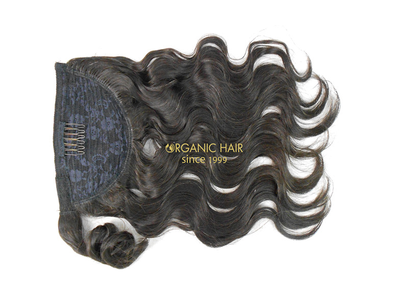 Clip In 100 Human Hair Extensions Ponytail Hair Extensions China