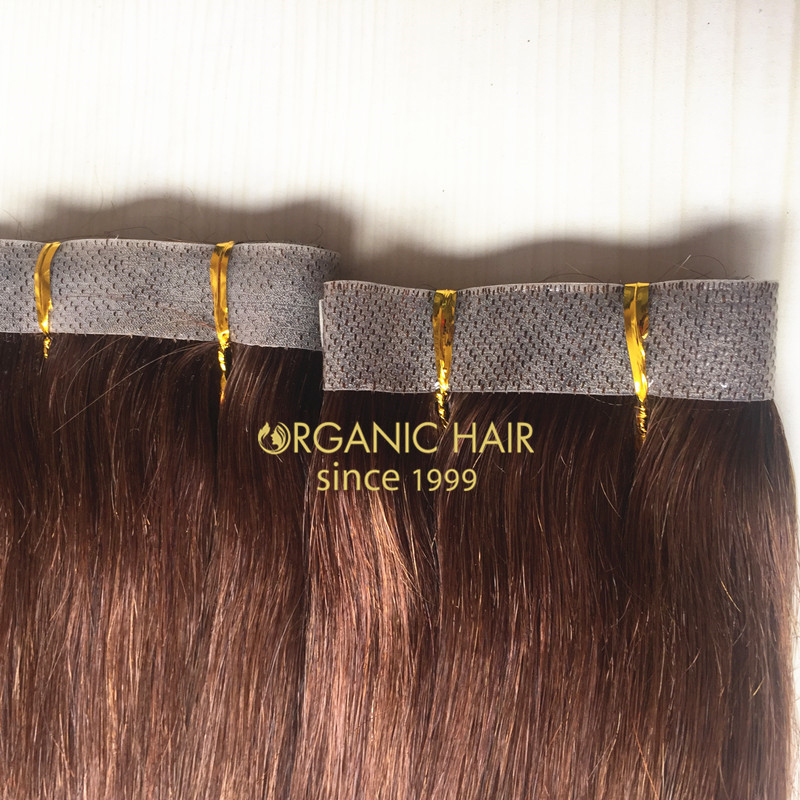 Factory Wholesale Seamless Skin Weft Hair Extensions China Oem