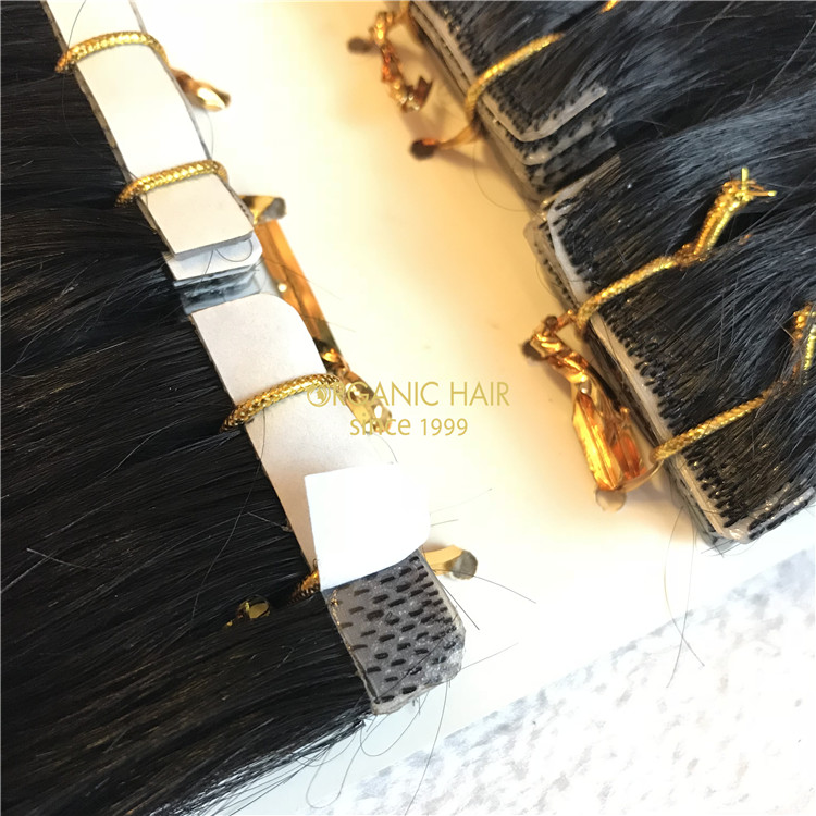 Invisible tape in hair extensions for skin #1B color X93