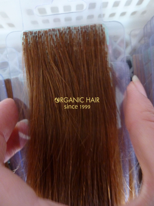 Invisible tape hair extensions vendor PU s skin wefts