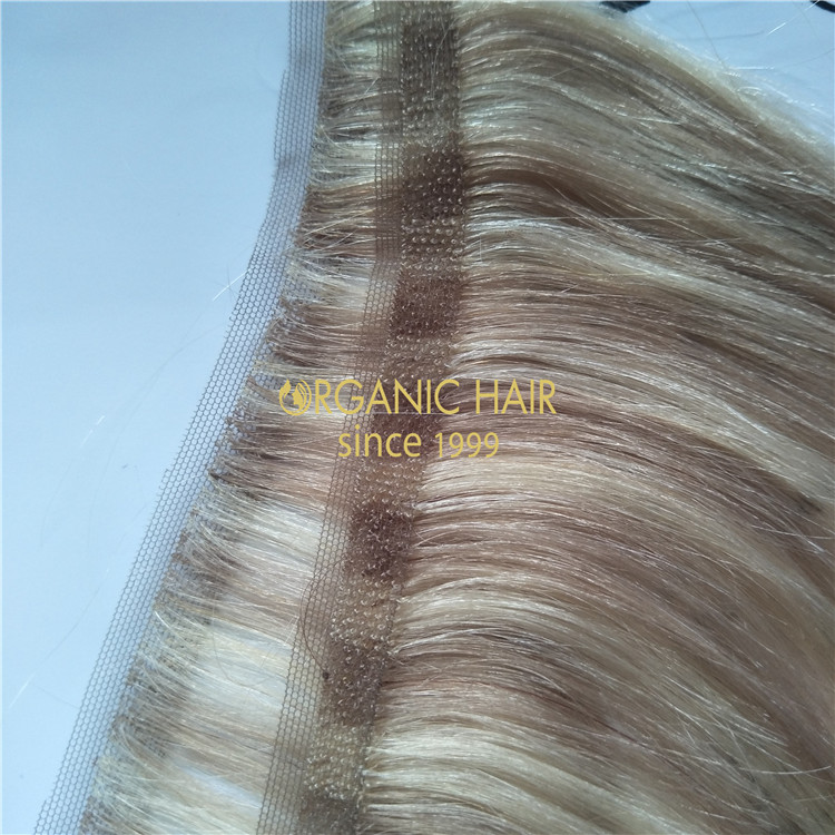 Invisible hair extensions-lace skin weft GT37