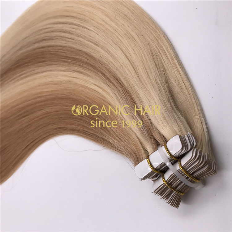 Wholesale invisible tape in hair extensions and #P18/60 color X307