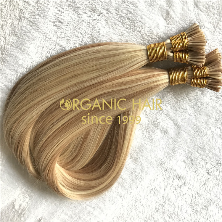 Best human Itip hair extensions piano color 18/60 X191