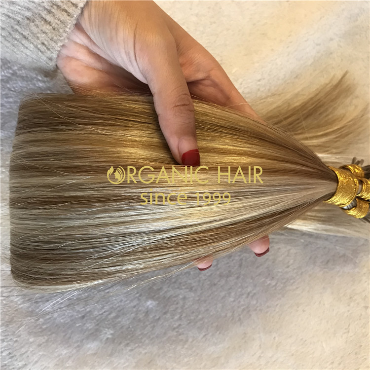 Piano color Fusion i tip hair is Available H111
