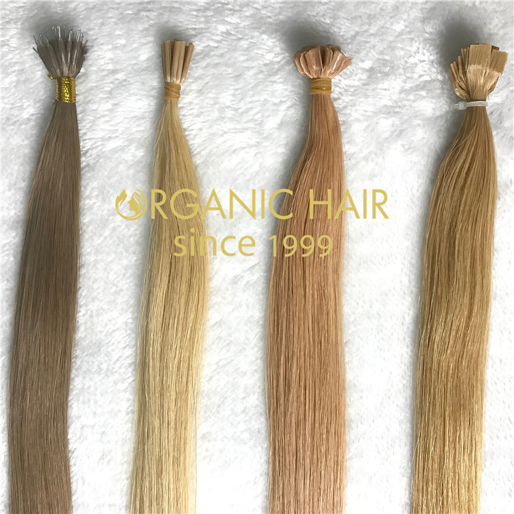 All types of keratin bond hair extensions H67