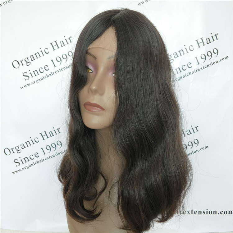 100%human young girl hair Jewish wig C24
