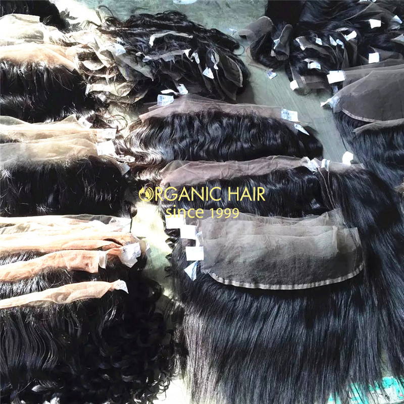4X13 virgin malaysian straight hair lace frontal closure