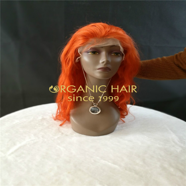 Light color lace front wigs from Chinese factory GT27