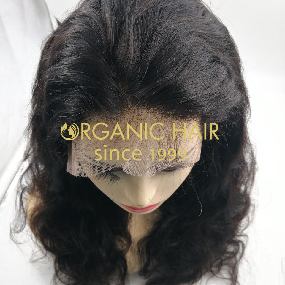 Wholesale  100% remy human hair lace frontal wigs for sale rb66