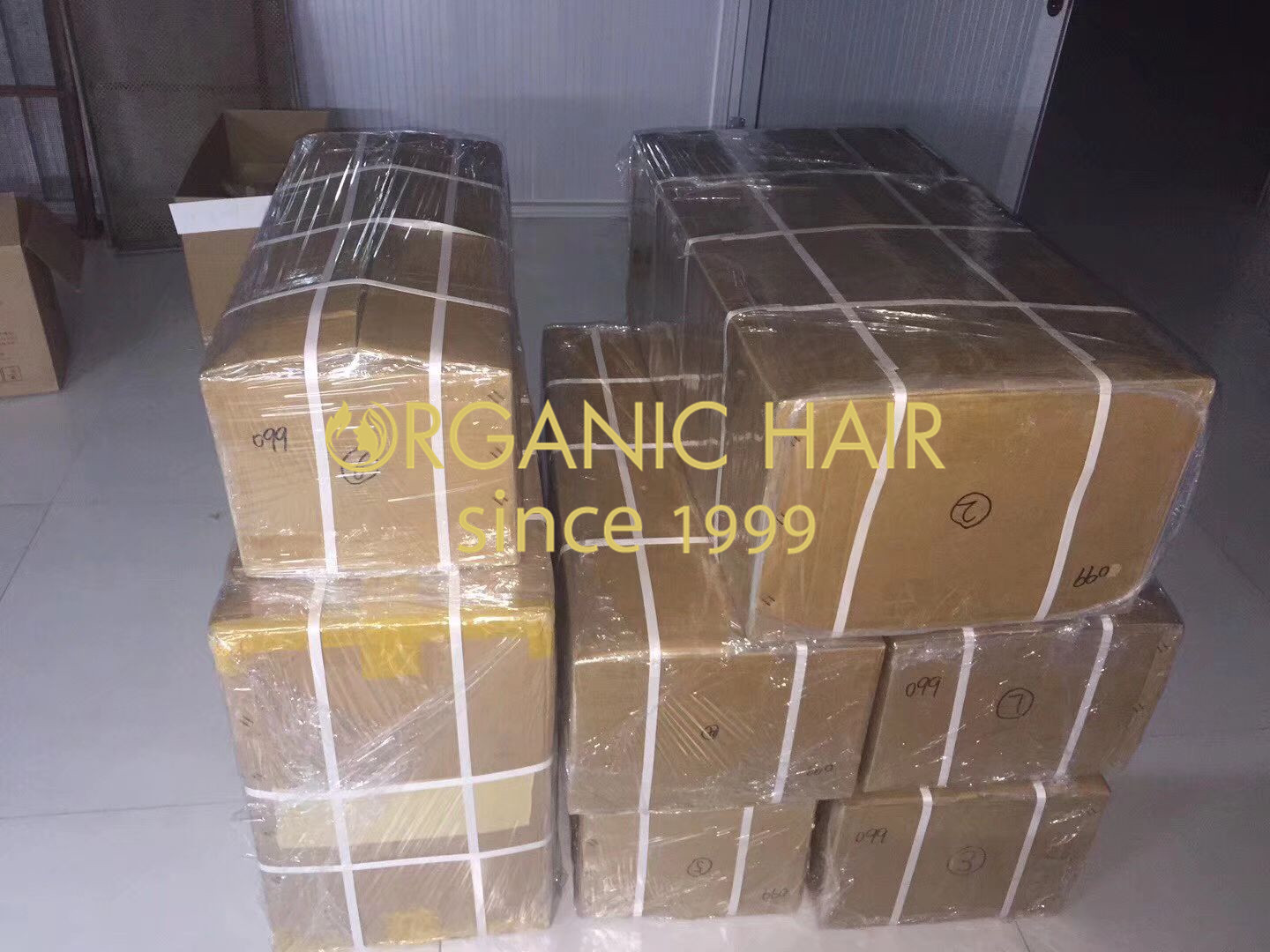 The SAS/STAT system provides customers fast service by preparing hair extension products large in stock h2