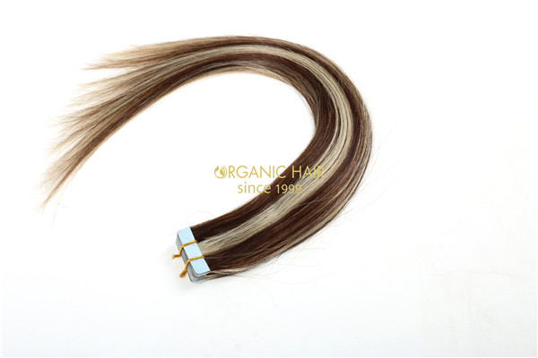 Luxury hair extensions tape in ombre hair extensions