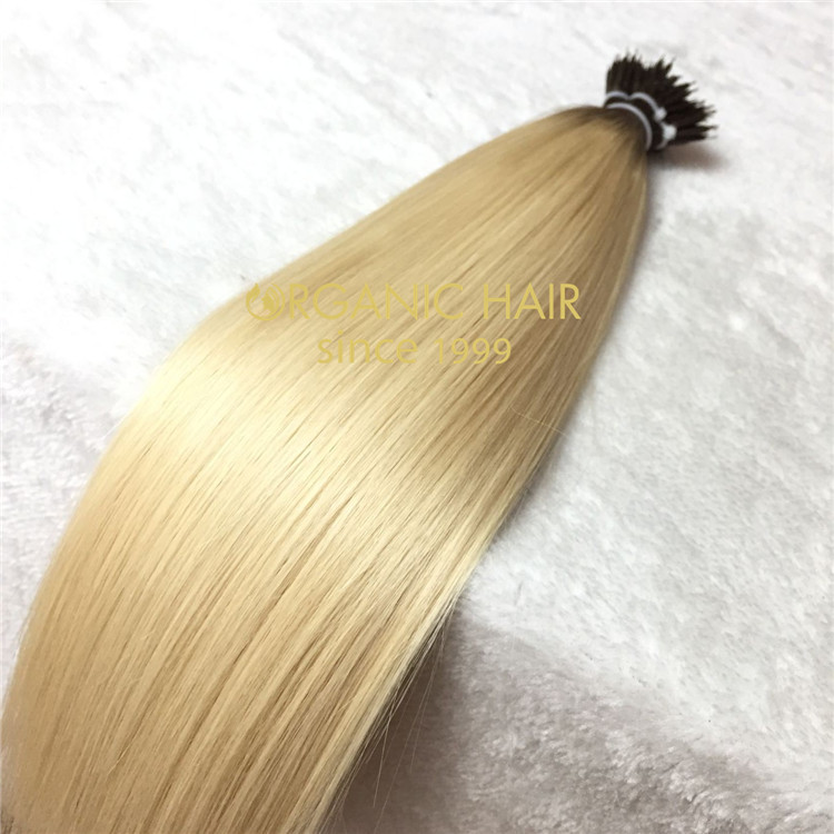 Hair extensions to order--Nano ring hair extensions C16