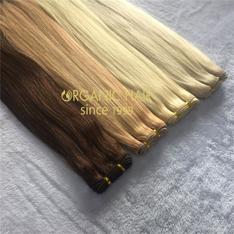 Much cheaper best remy human machine weft for nomal clients A181