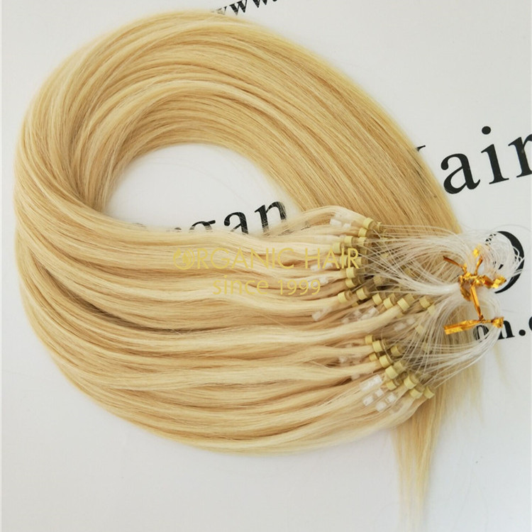 Wholesale Best Micro Ring Hair Extensions 60color X46 China Oem