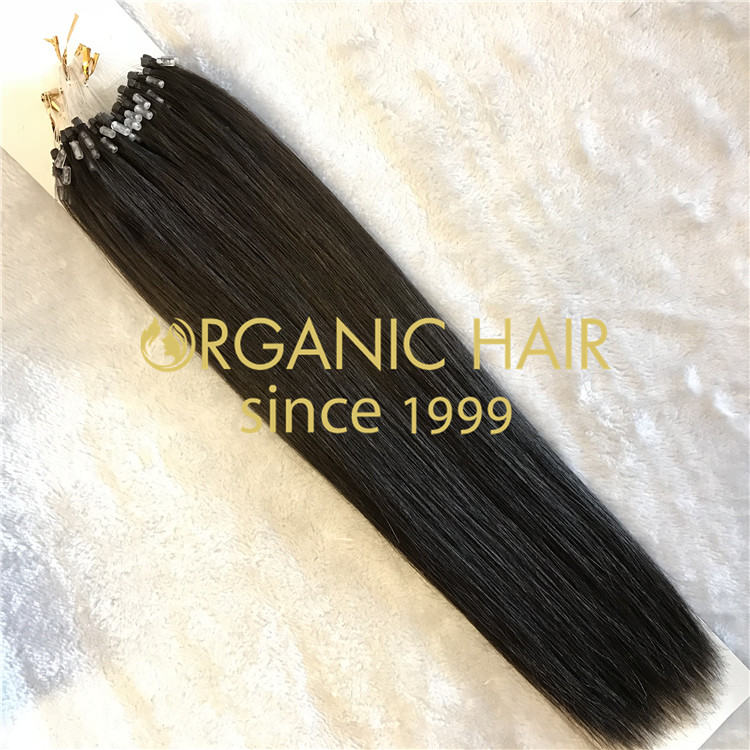 The best way to increase your hair without hurting : Micro Ring Hair Extensions H29