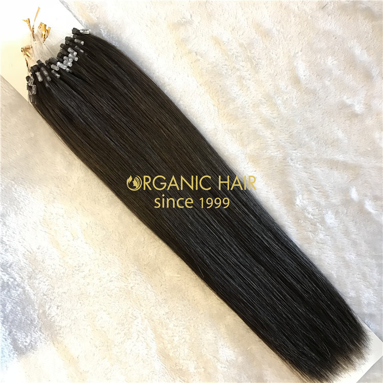 High quality micro ring hair extensions wholesale V69