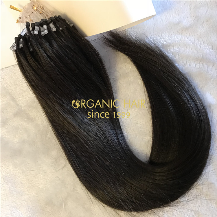 High quality mcro ring hair extensions wholesale V18