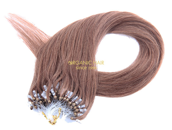Microlink hair extensions remy hair extentions #8