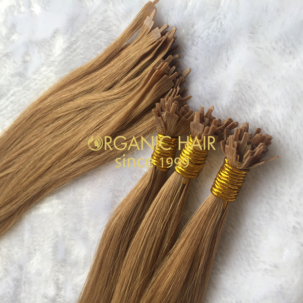 Russian Hair Full Cutilcle Fan Tip Hair Extensions Vendor In China