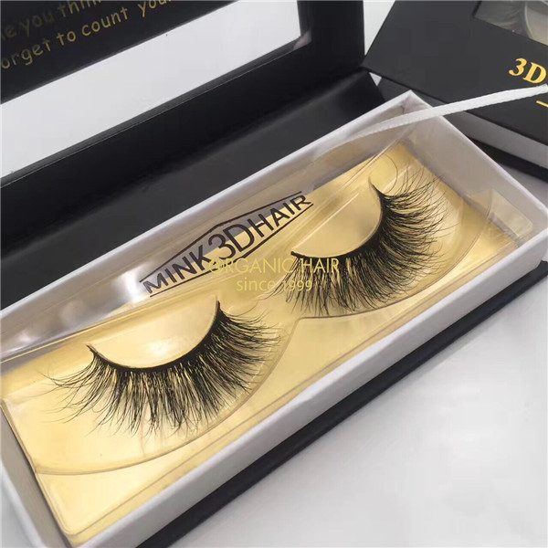 Wholesale lashes Mink 3D eyelashes vendor