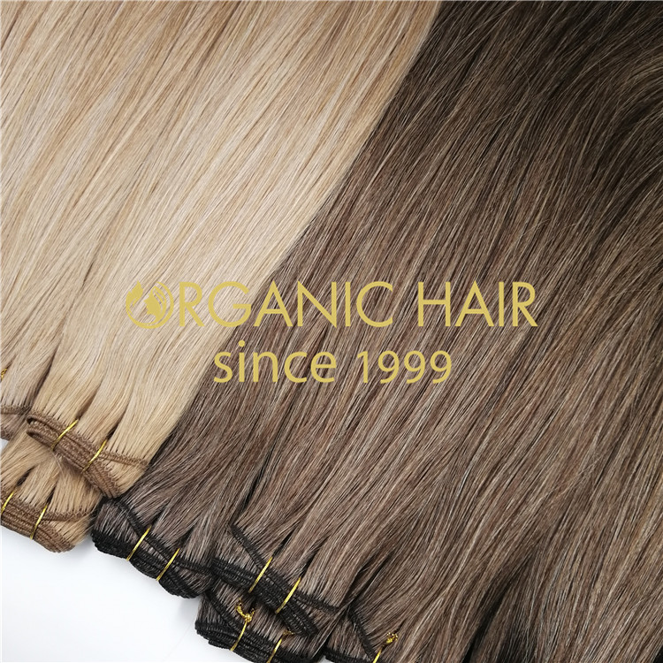 Premium mixed hair weft extensions H266