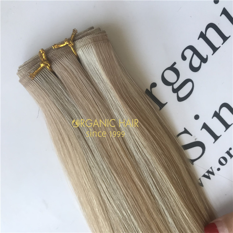 More stronger-The new Organic Hybrid hand-tied weft A115