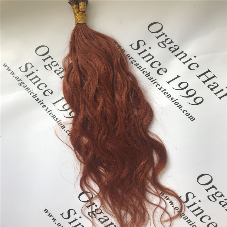 Top quality product Full cuticle hair extensions:natural wave nano ring hair H55