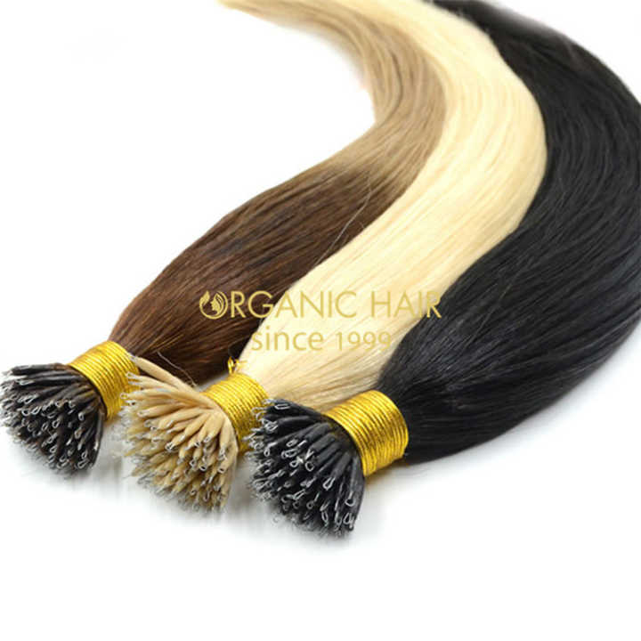 Do you need nano tip hair extension?H27