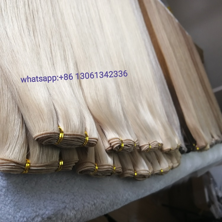 Top quality hand tied cuticle wefts supplier  RB15
